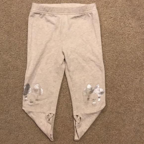 4b8f5c1b24950 GAP Bottoms | Toddler Girl Minnie Mouse Cropped Leggings 3t | Poshmark
